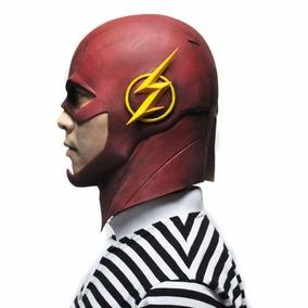 Máscara De Látex The Flash (netflix) Para Adultos - Cosplay