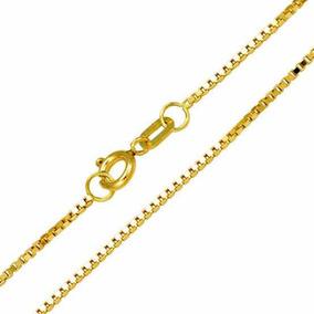 e2c240d6585f4 Cordão Corrente Veneziana Ouro 18k 60cm 1.5g