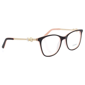 f3f0140eaed7d Armação Oculos De Grau Chanel Pérola 58593-3 Frete Gratis