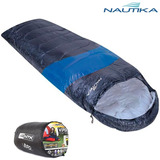 Saco De Dormir Nautika Viper 5ºc A 12ºc - Preto E Azul