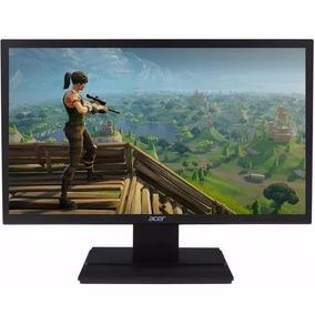 Monitor Led Acer 19,5 V206hql Hdmi - Vga - Vesa E Inclinacao