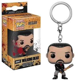 Chaveiro Funko Pop Keychain The Walking Dead - Negan