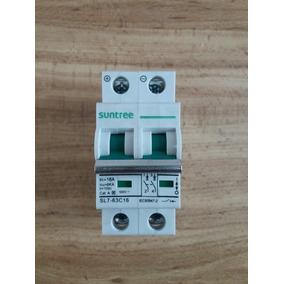 Pastilla Termomagnética Dc Para Fotovoltaicos 16a, 550vdc