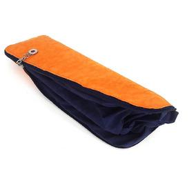 Bolsa/necessaire Azul E Laranja Color Bags