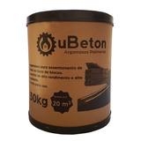 Ubeton Massa Polimérica - Cola Para Tijolo - Barrica 30kg