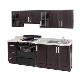 Cocina Valeria 240 Cm Con 9 Puertas Pm-3409873