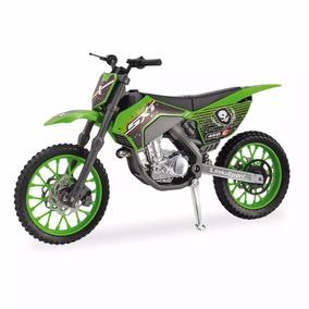 Moto Cross Moto Em Miniatura - Usual Brinquedos