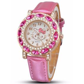 d5e524c25d2 Relógios Infantil Cor De Rosa Para Meninas - Relógios no Mercado ...