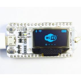 Sx1278 Lora Esp32 0.96 Polegada Azul Display Oled Bluetooth