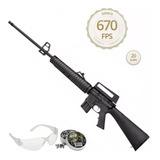 Carabina De Pressão Rossi Rifle M-16 R 5,5mm + Chumbo