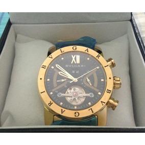 Relógio Bvlgari - Fundo Azul - Relógios no Mercado Livre Brasil b2893185f3