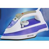 Plancha Vapor C/rociador Erick-son Ple401pu Azul Icb Technol