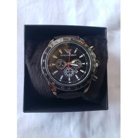 Empório Armani Ar0425 Couro Quartz 35mm Original - Relógios De Pulso ... d721296f8f