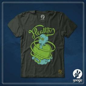 Playera Yooga Company - Health Salud, Yoga Y Bienestar