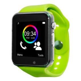 Necnon Reloj Smart Watch Celular Touch Bluetooth C-3t Verde