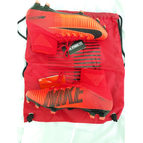 Nike Mercurial Superfly Blancos Y Rojos - Botines Nike en Mercado ... 85fe074b63bc8