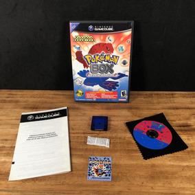 Pokémon Box Original C/ Memory Card P/ Gamecube!! Raro