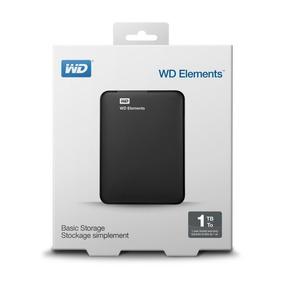 Hd Externo 1tb Wd Portatil Western Digital Elements Lacrado