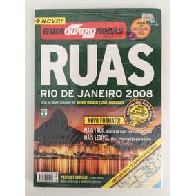 Revistas Guia Quatro Rodas Ruas Rio De Janeiro 2008 Lacrado!