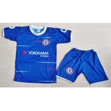 Kit Conjunto Camisa Calcao Chelsea Morata 10 Ingles Promocao 8342c577c07c8