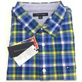 Camisa Social Tommy Hilfiger Tamanho Ggg Xxl Manga Comprida