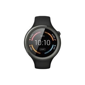 Motorola - Moto Sport 360 Smartwatch 45mm De Silicona - Negr