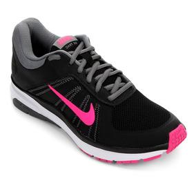Tênis Nike Dart 12 Msl Feminino Preto E Pink - Original