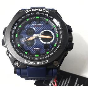b25284997d1 Casio G Shock Azul E Preto - Relógios no Mercado Livre Brasil