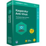 Kaspersky Antivirus 2019 Licencia 1 Pc + Envio Inmediato