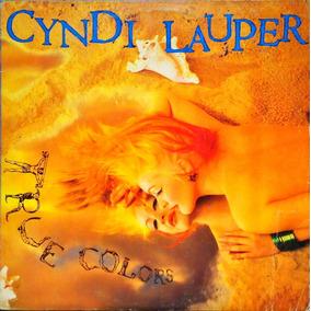 Cyndi Lauper Lp True Colors 1986 + Encarte 12127