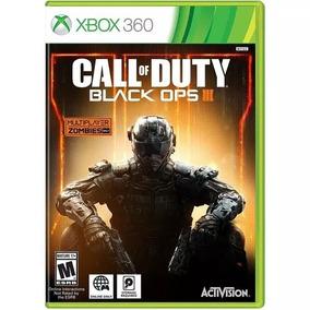 Call Of Duty Black Ops 3 Xbox 360 Mídia Física Lacrado