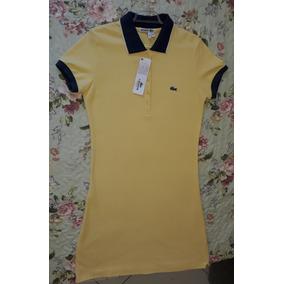Vestido Polo Lacoste - Calçados, Roupas e Bolsas no Mercado Livre Brasil 06a00385df