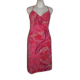 f099199094 Express Vestido De Tirantes Rosa Con Flores Talla 5 6