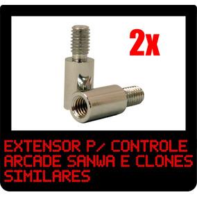 2x Eixo Extensor Sanwa P/ Controle Arcade Fliperama !!!!