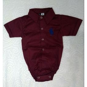 Body Camisa Social Bebe - Roupas de Bebê no Mercado Livre Brasil 518ad2f7c6e