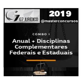 Curso Combo Carreira Juridica G7 Juridico 2019 + Brindes