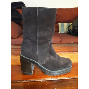 Botas Marrones Tipo Gamuza Talle 36 - Zapatos de Mujer en Mercado ... 0993e6048d1f2
