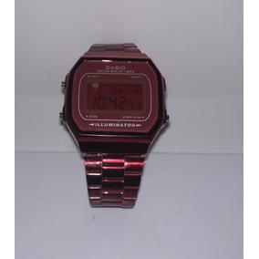 Reloj Casio Rojo Metal