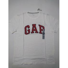 Gap Playera 100% Original Letras Bordadas En Color Rojo