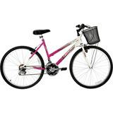Bicicleta Marbela 18v Aro 26 Magenta/bc