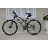 Bicicleta Aro 29, Full, Quadro Carbono - Frete Grátis