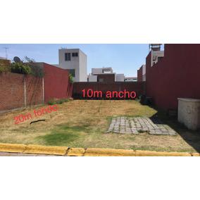 Terreno 200m2 Fraccionamiento Cerrado Zona Zerezotla
