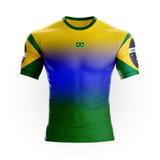 Camisa Brasil Azul Infantil - Camisa Brasil no Mercado Livre Brasil b18de2f4225b2