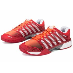 Tenis K-swiss Hypercourt Express Vermelho E Laranja