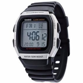 59d2db84dc0 Relogio Casio W96h-1a Wr-50m Hora Dual Alarme 12 24hs Nfe
