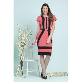 Vestido Moda Evangelica Promoçao !!! Cod#0022