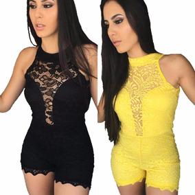 420e21b42 Macacao Curto Reveillon - Macacão para Feminino no Mercado Livre Brasil