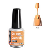 Esmalte Gel Led Uv Hello Mini 15ml Unha Seca Na Cabine Neon