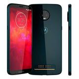 Celular Motorola Moto Z3 Play Indigo Tela 6