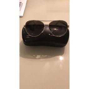 Óculos De Sol Chanel Marrom Modelo 5171 Com Laço Na Haste - Óculos ... 1402a6547a
